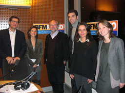 29 novembre 2010 Laurent JOFFRIN invit� de l'�mission Club MediaRH